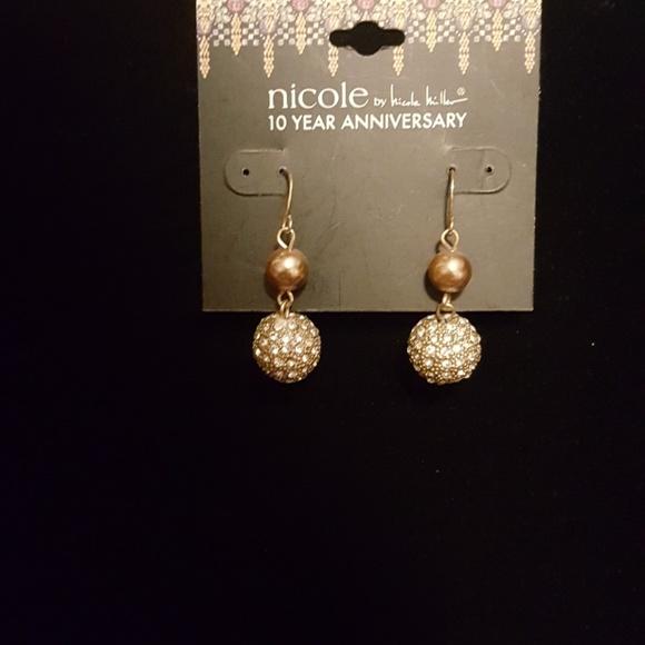 Nicole By Nicole Miller Jewelry Earrings Poshmark